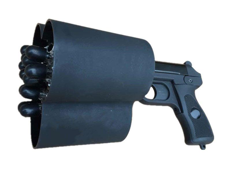 警用装备三发网枪(抓捕网)