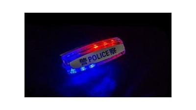 警用肩灯是夜间执勤人员的护身符
