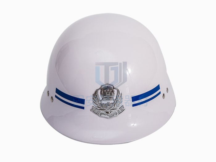 白色勤务盔
